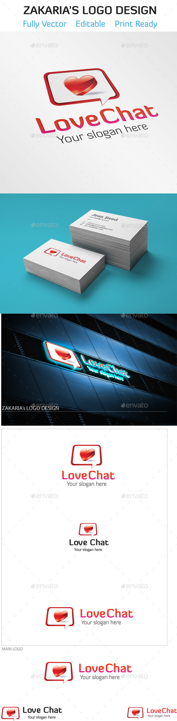 GraphicRiver Love Chat 10492553