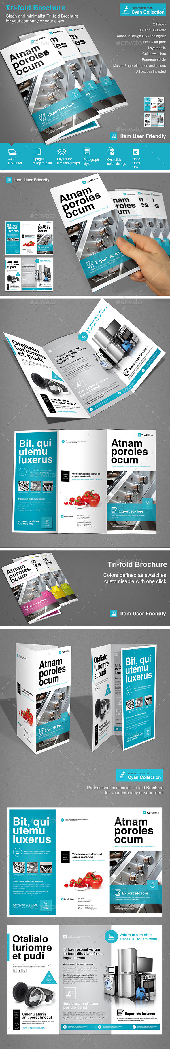 GraphicRiver Tri-fold Corporate Vol.2 10492562