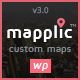 Mapplic - Custom Interactive Map WordPress Plugin - CodeCanyon Item for Sale