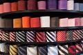 neckties on the shelf - PhotoDune Item for Sale