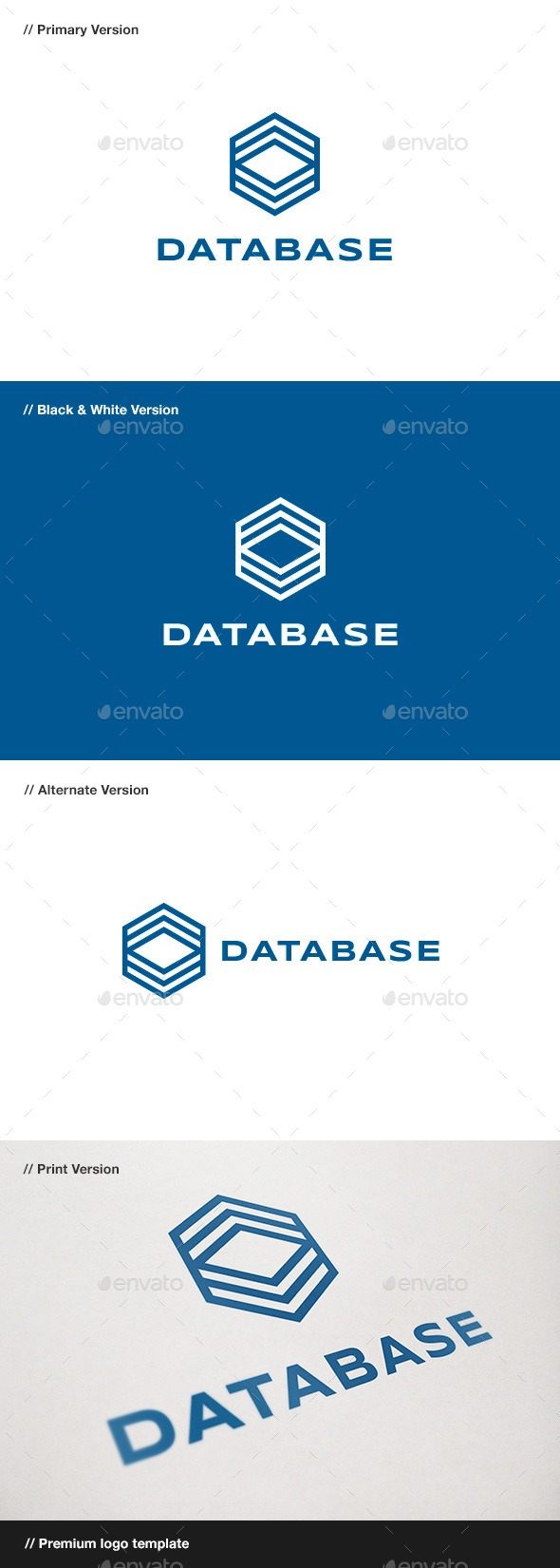 GraphicRiver Database Logo 10492731