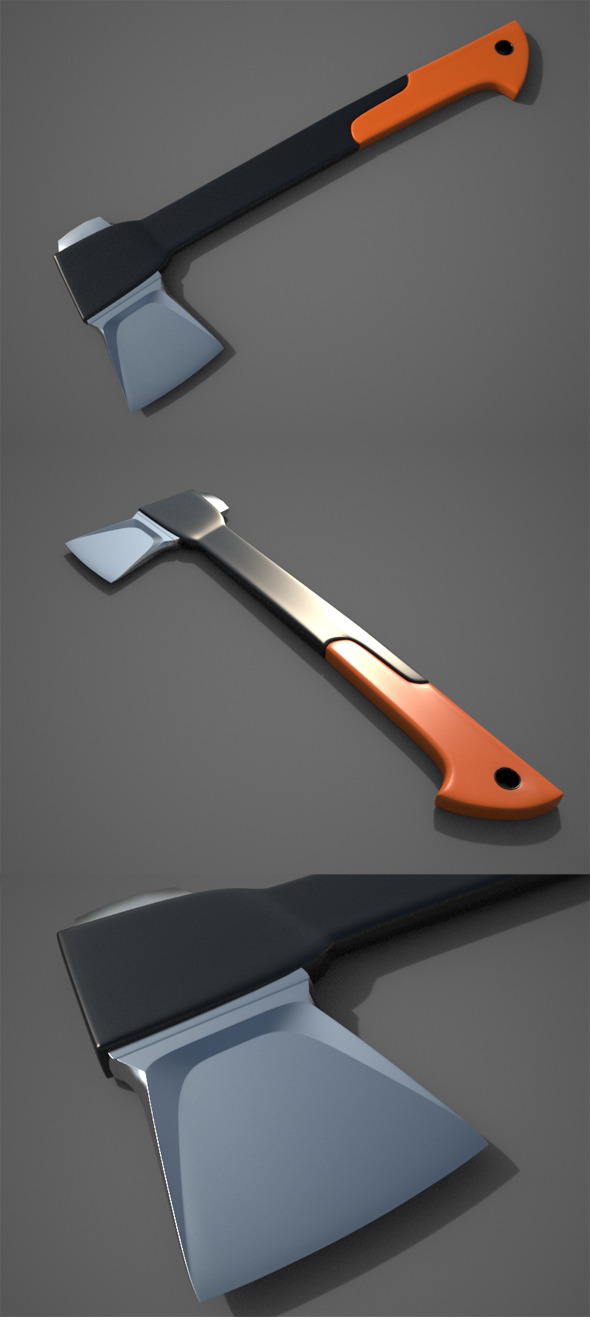 3DOcean Splitting Axe 10492747