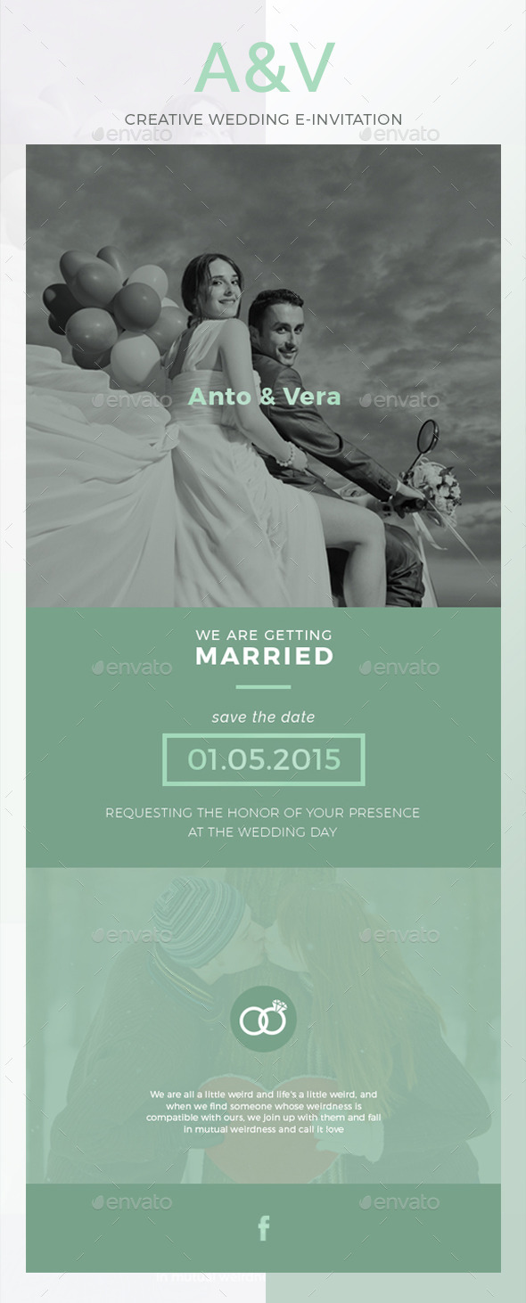 GraphicRiver AV Wedding E-Invitation 10445186