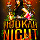 Hookah Night Flyer Template PSD - GraphicRiver Item for Sale