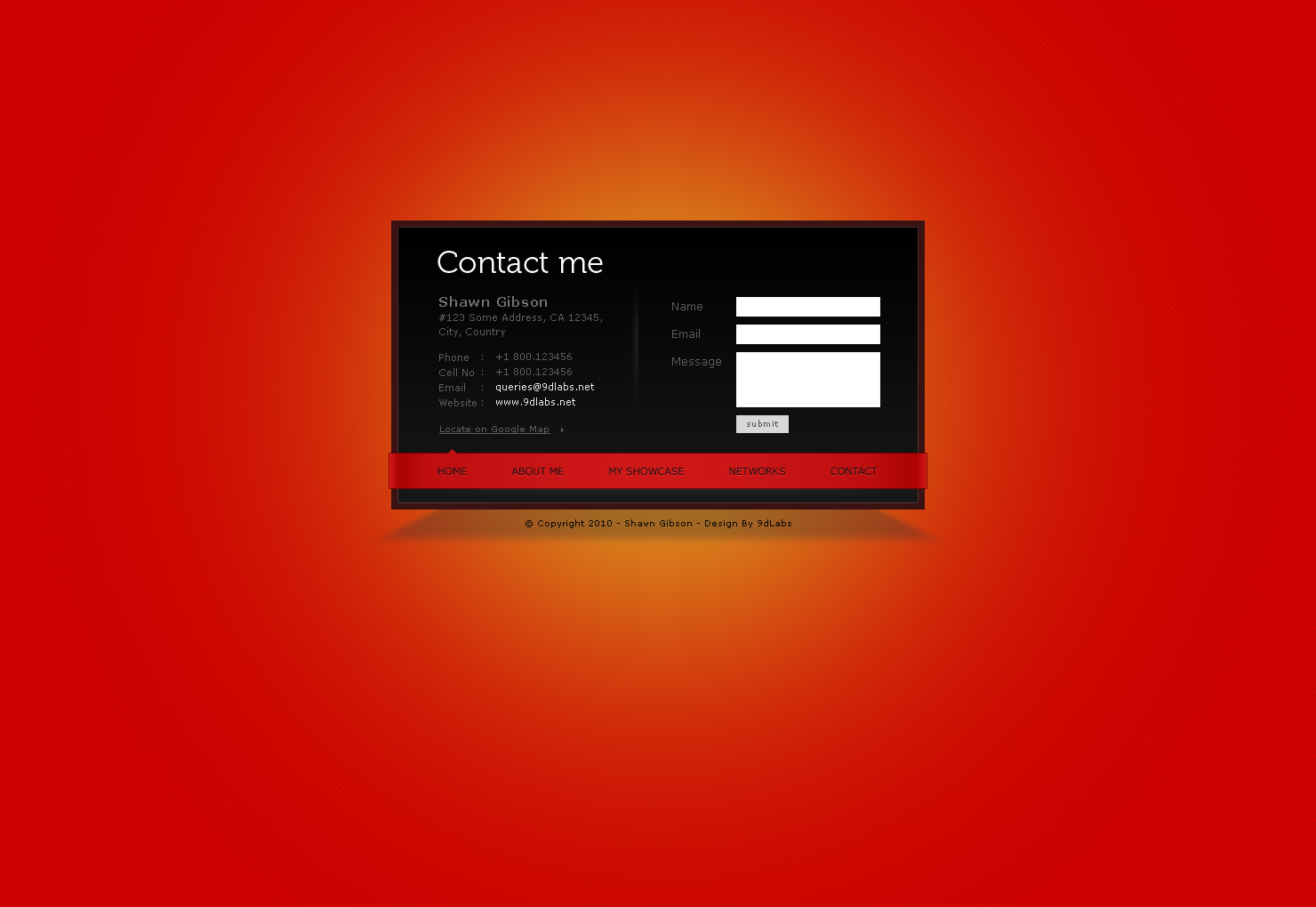 Super Slick Vcard - 7 Skins - Added New Features