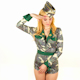 Female Army Costume Dancer 6 - VideoHive Item for Sale