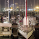 Barcelona Port Vell Harbour Boats Night 1 - VideoHive Item for Sale