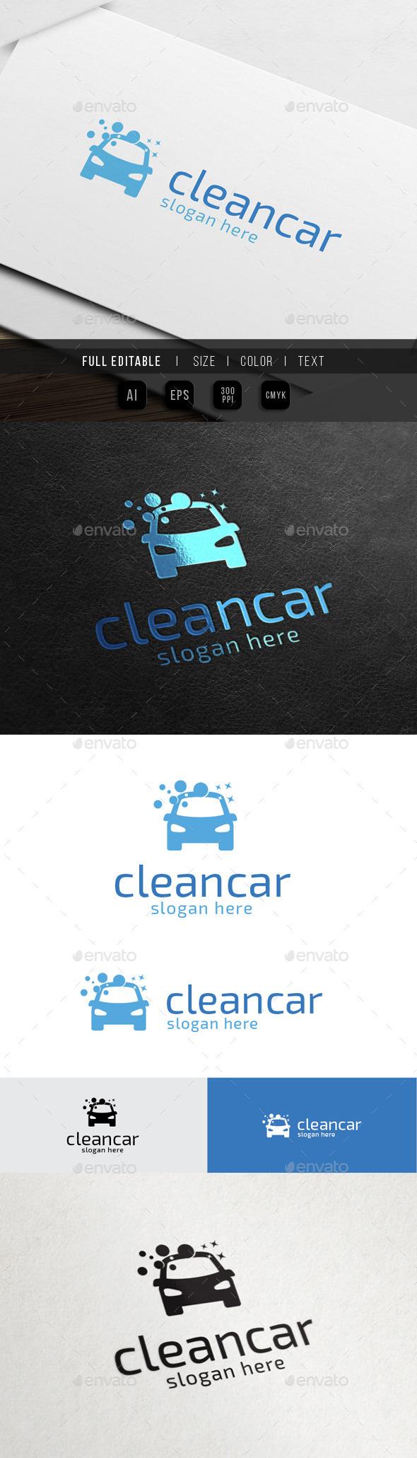 GraphicRiver Car Wash Clean Auto 10493842