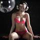 Beautiful Blonde Girl Dances Discoball 1 - VideoHive Item for Sale