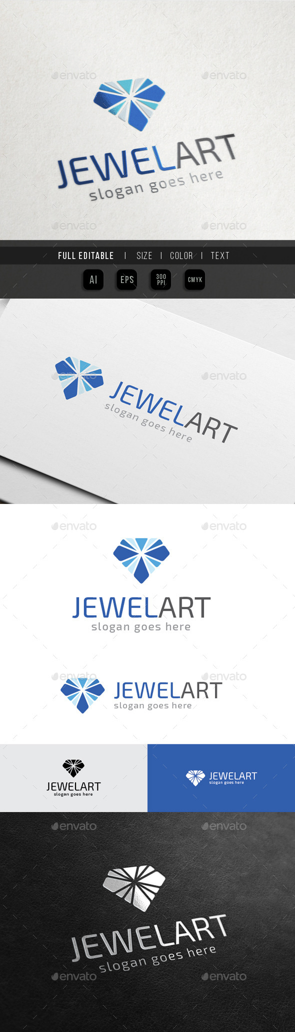 GraphicRiver Jewel Art Diamond Media 10493894