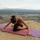 Yoga Teacher, Amazing Location, Mountain Clifftop 11 - VideoHive Item for Sale