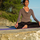 Yoga Teacher, Amazing Location, Mountain Clifftop 3 - VideoHive Item for Sale