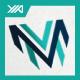 Mega Victory - M V letter - GraphicRiver Item for Sale