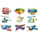 Planes and Balloons - GraphicRiver Item for Sale