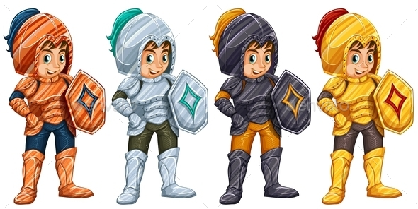 GraphicRiver Knights 10494787