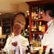 Male And Female Cocktail Waiter In A Classic Looking Cocktail - VideoHive Item for Sale