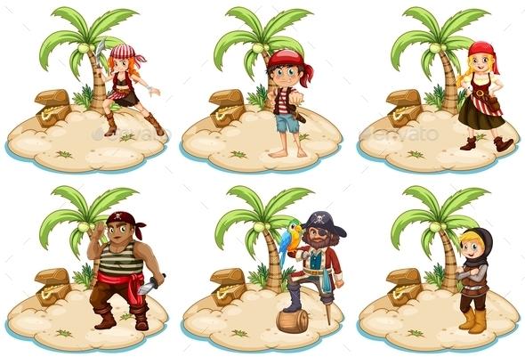 GraphicRiver Pirates 10494868