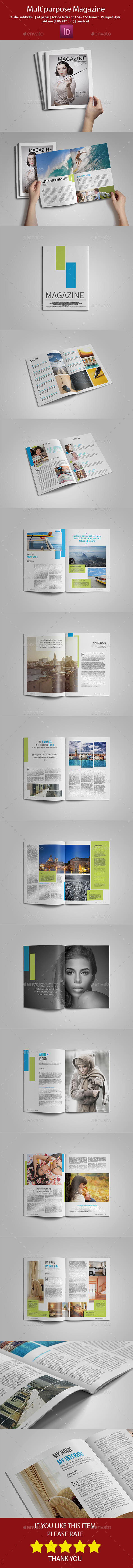 GraphicRiver Simple Multipurpose Magazine 10495079