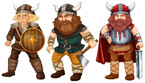 GraphicRiver Vikings 10495096
