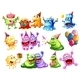 Monster Party - GraphicRiver Item for Sale