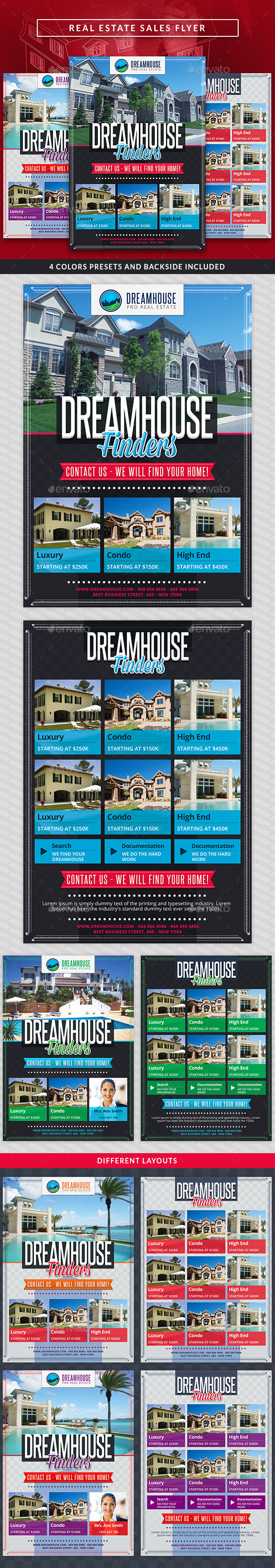 GraphicRiver Real Estate Sales Commerce Flyer 10495252
