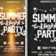 Summer Night Party - GraphicRiver Item for Sale