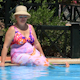 Woman By Pool 1 - VideoHive Item for Sale