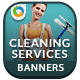Cleaning Service Banners - GraphicRiver Item for Sale