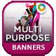 Multi Purpose Web Banners - GraphicRiver Item for Sale