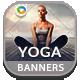 Yoga & Meditation Banners - GraphicRiver Item for Sale