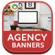 Design Agencey Banners - GraphicRiver Item for Sale