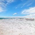 ocean, sandy beach and blue sky - PhotoDune Item for Sale