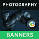 Photography Web Banners - GraphicRiver Item for Sale