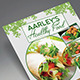 Healthy Food Menu Flyer - GraphicRiver Item for Sale