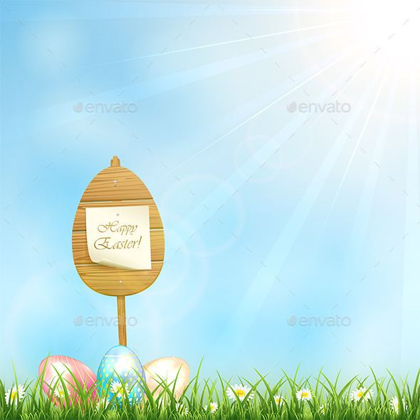 GraphicRiver Easter Background 10496927