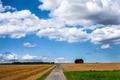 Landscape Field in Frankfurt Germany - PhotoDune Item for Sale
