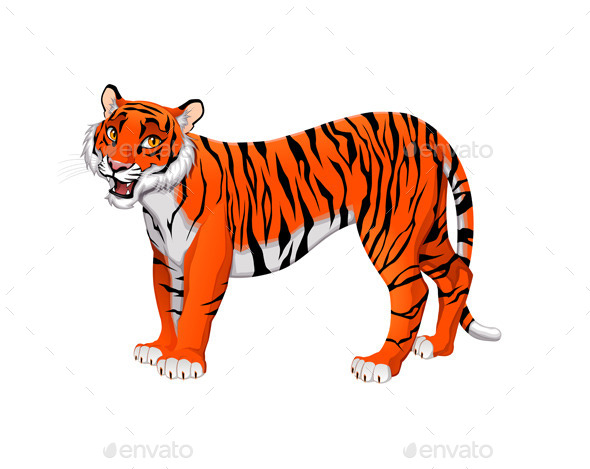 GraphicRiver Tiger 10497028