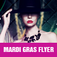 Mardi Gras Flyer v.3 - GraphicRiver Item for Sale