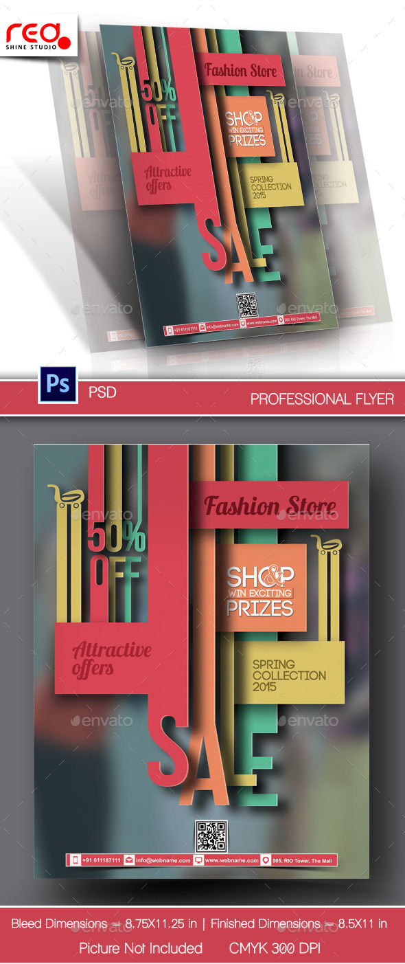 GraphicRiver Promotion Flyer & Poster Template 10415293