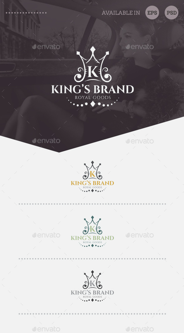 GraphicRiver King s Brand Logo Template 10497323