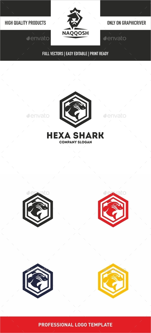 GraphicRiver Hexa Shark 10497697