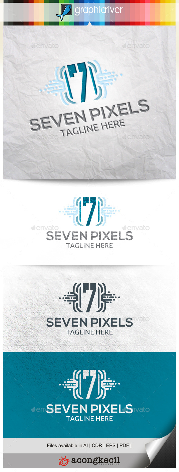 GraphicRiver Number Pixels 7 10498064