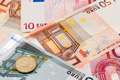 Euro banknotes and coin - PhotoDune Item for Sale