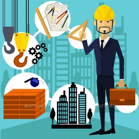 GraphicRiver Constructor Worker 10498347