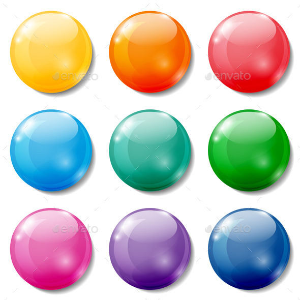 GraphicRiver Colored Buttons 10498464