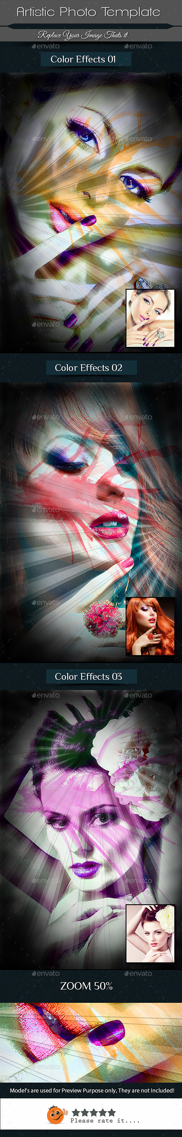 GraphicRiver Artistic Photo Frame Template 10498525