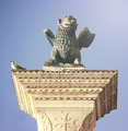 Saint Marks Winged Lion Venetian Symbol Column 12th Century Orig - PhotoDune Item for Sale