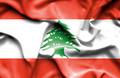 Lebanon waving flag - PhotoDune Item for Sale