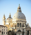 Santa Maria della Salute church on Grand Canal in Venice Italy - PhotoDune Item for Sale
