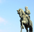 Statue representing the General Joan Prim on a horse in Barcelon - PhotoDune Item for Sale